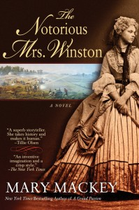 The Notorious Mrs. Winston by Mary Mackey
