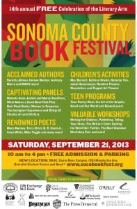 Mary Mackey reads at Sonoma County Book Festival