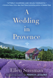 Ellen sussman bookcover A wedding in Provance