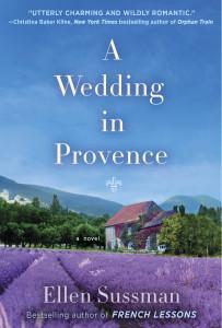 Ellen sussman bookcover A wedding in Provance